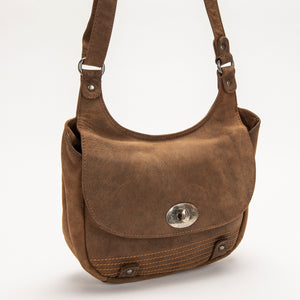 2752 Purse - Bison Leather