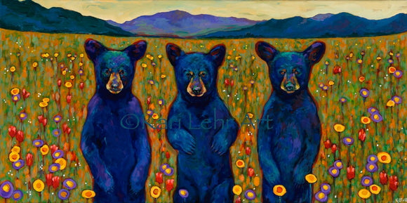 Bears of a Feather Acrylic