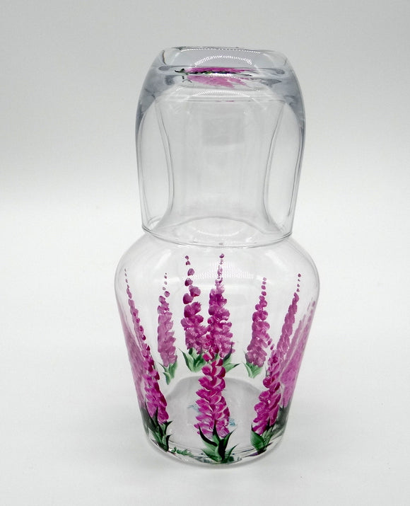 Fireweed Carafe & Glass