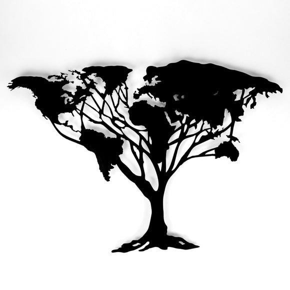 549 - World Tree - Black Steel