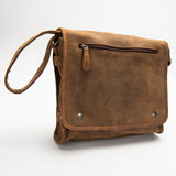 2471 Messenger Bag - Bison Leather