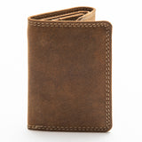 224 Trifold Wallet - Bison Leather