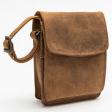2728 Messenger Bag - Bison Leather