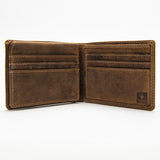 212 Bill Fold Wallet - Bison Leather