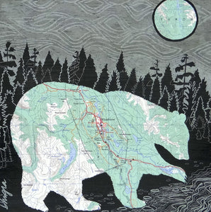 Whitehorse Bear  6x6