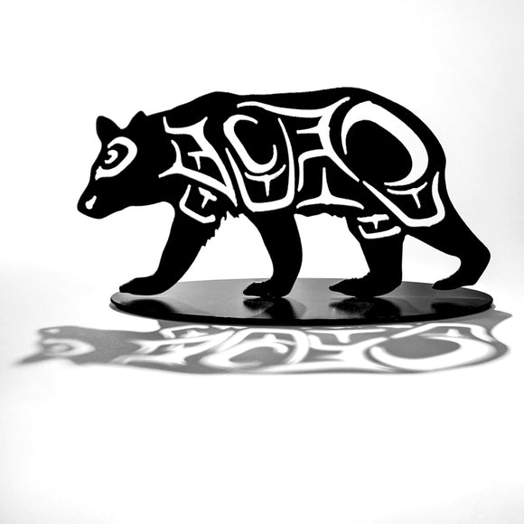 First Nations Bear - Black Steel