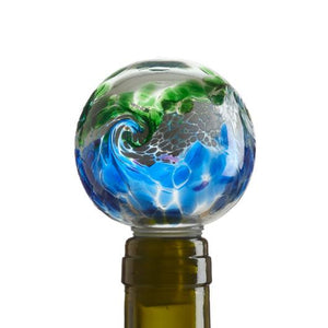 VanGlow Wine Stopper Blue/Green