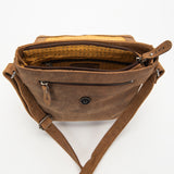 2846 Messenger Bag M - Bison Leather