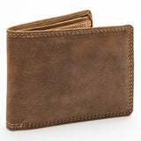 213 Bill Fold Wallet - Bison Leather