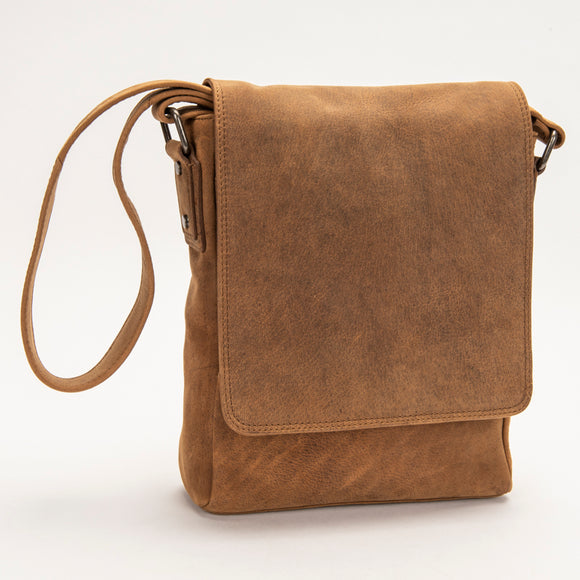 2430 Messenger Bag - Bison Leather