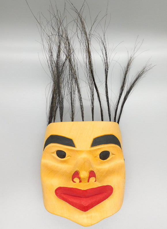 Tlingit Child Mask (Spirit of the Bear)