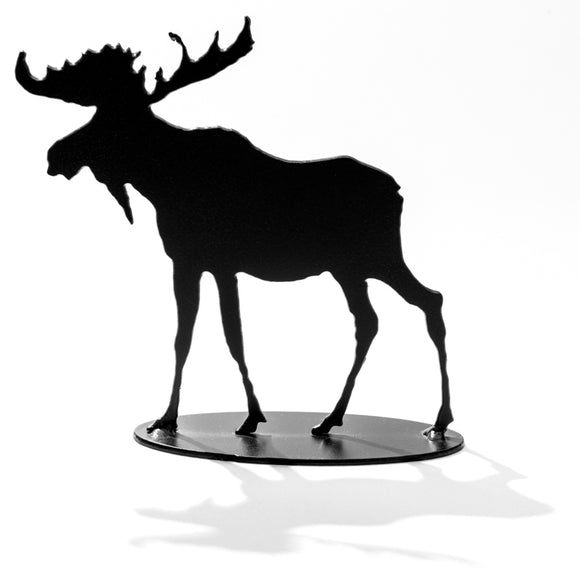 Moose (small) - Black Steel