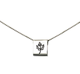 Winterchild, Mini Square Necklace