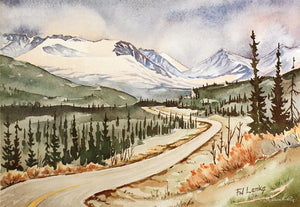 Alaska Highway - Cassiar Mountain
