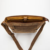 2849 Messenger Bag L - Bison Leather