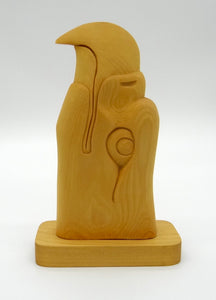 Eagle Sculpture - Spruce