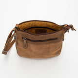 2739 Purse - Bison Leather
