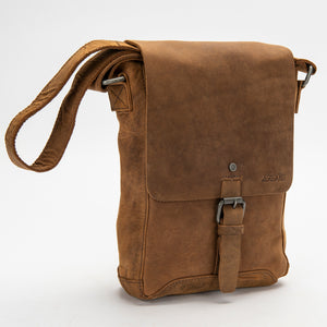 2837 Messenger Bag - Bison Leather