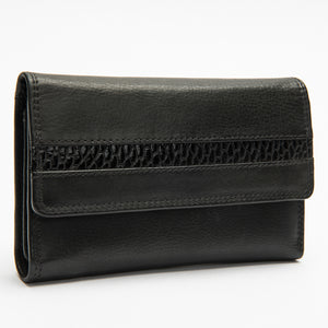 904 - Beaver Leather Ladies Wallet