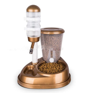 2 in 1 Automatic Feeder - accessories - SmarchPawz#