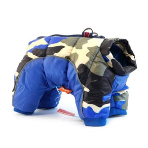 Camo Snowsuit - Winter Jacket - SmarchPawz#