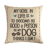 Dog Pillow Cover - for the humans - SmarchPawz#