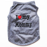 I ❤ Mommy/ Daddy Top - Jacket/vest/Sweater - SmarchPawz#