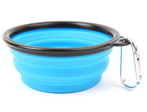 Portable Collapsible Dog Bowl - accessories - SmarchPawz#