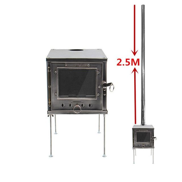 Outdoor Multi-purpose Heating Stove