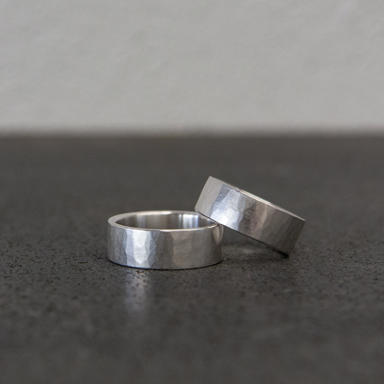 Hammered Texture Rings