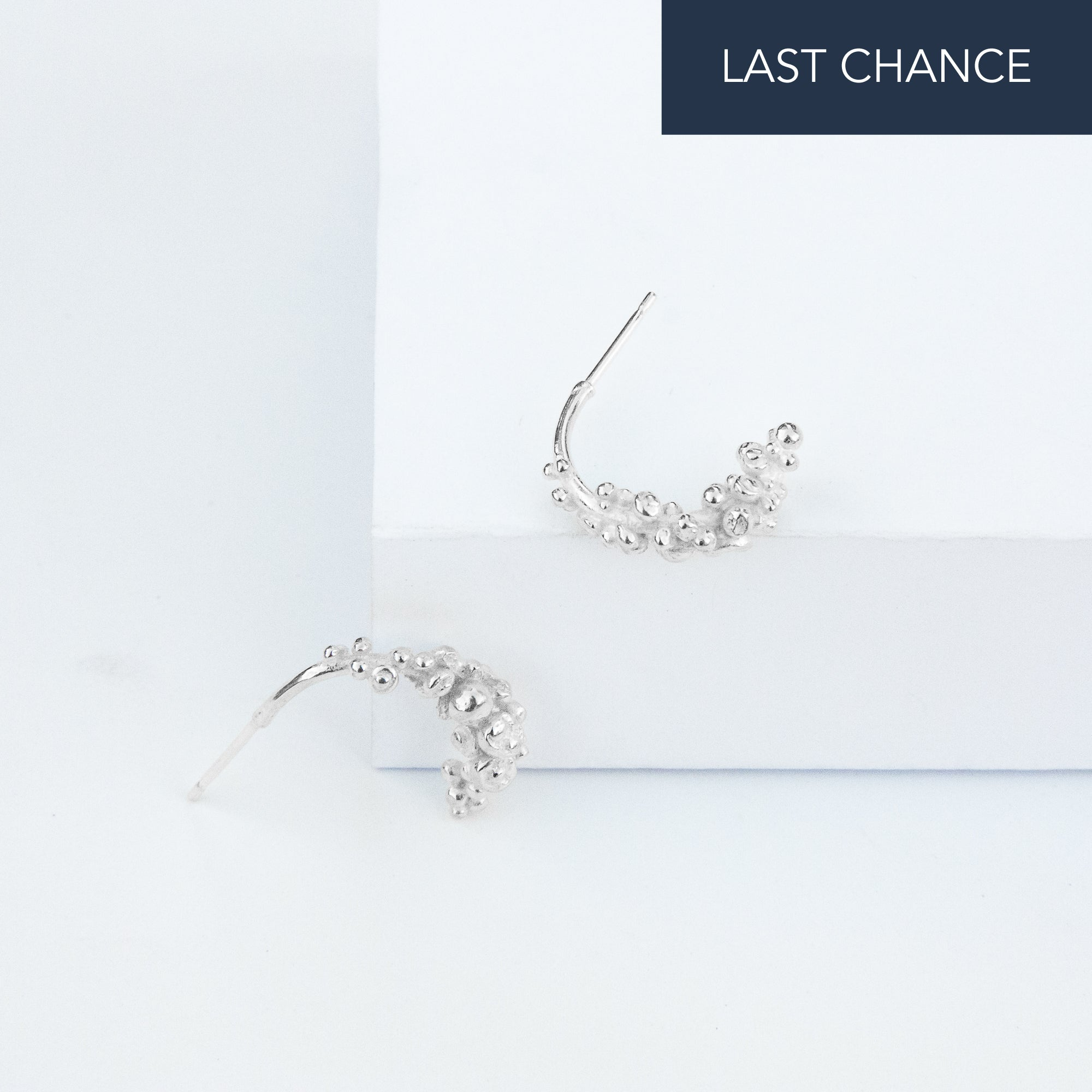 Speckled Flourish Earrings