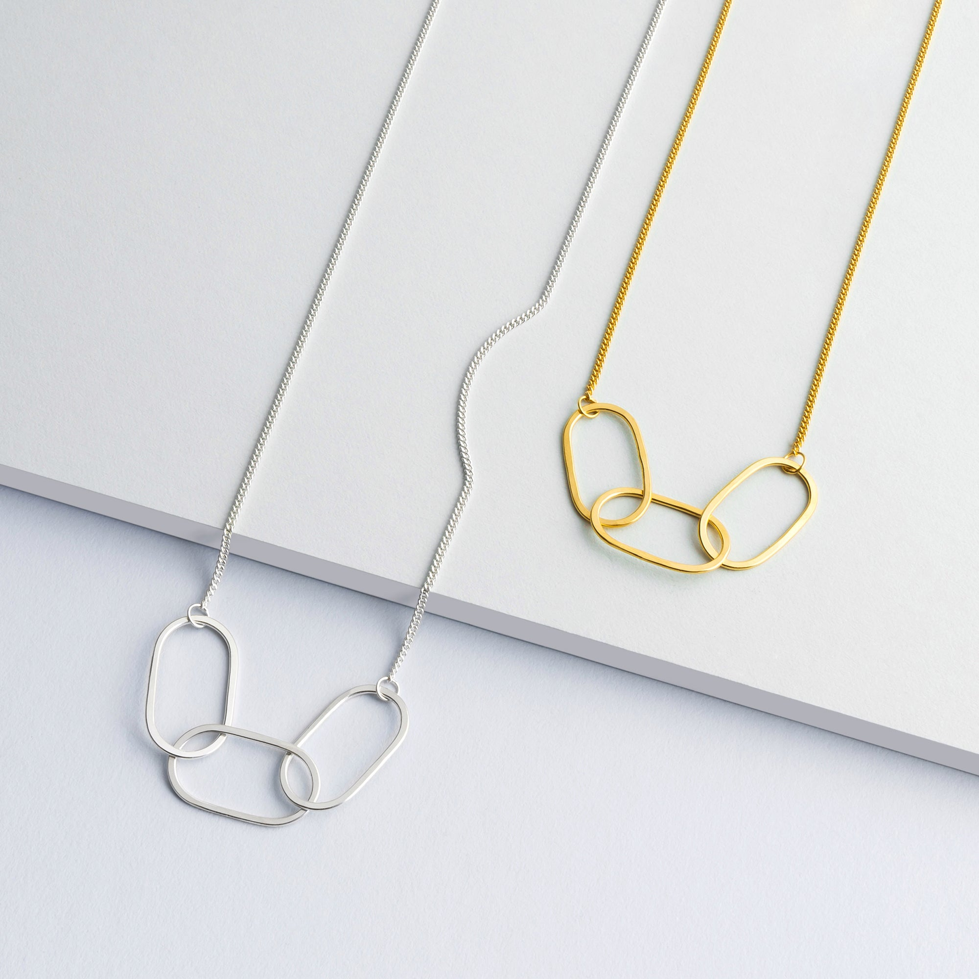 Mini Chain Necklace - Silver