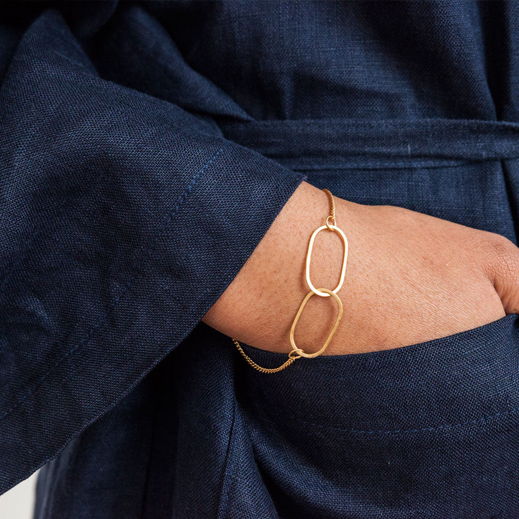 Linked Bracelet - Gold