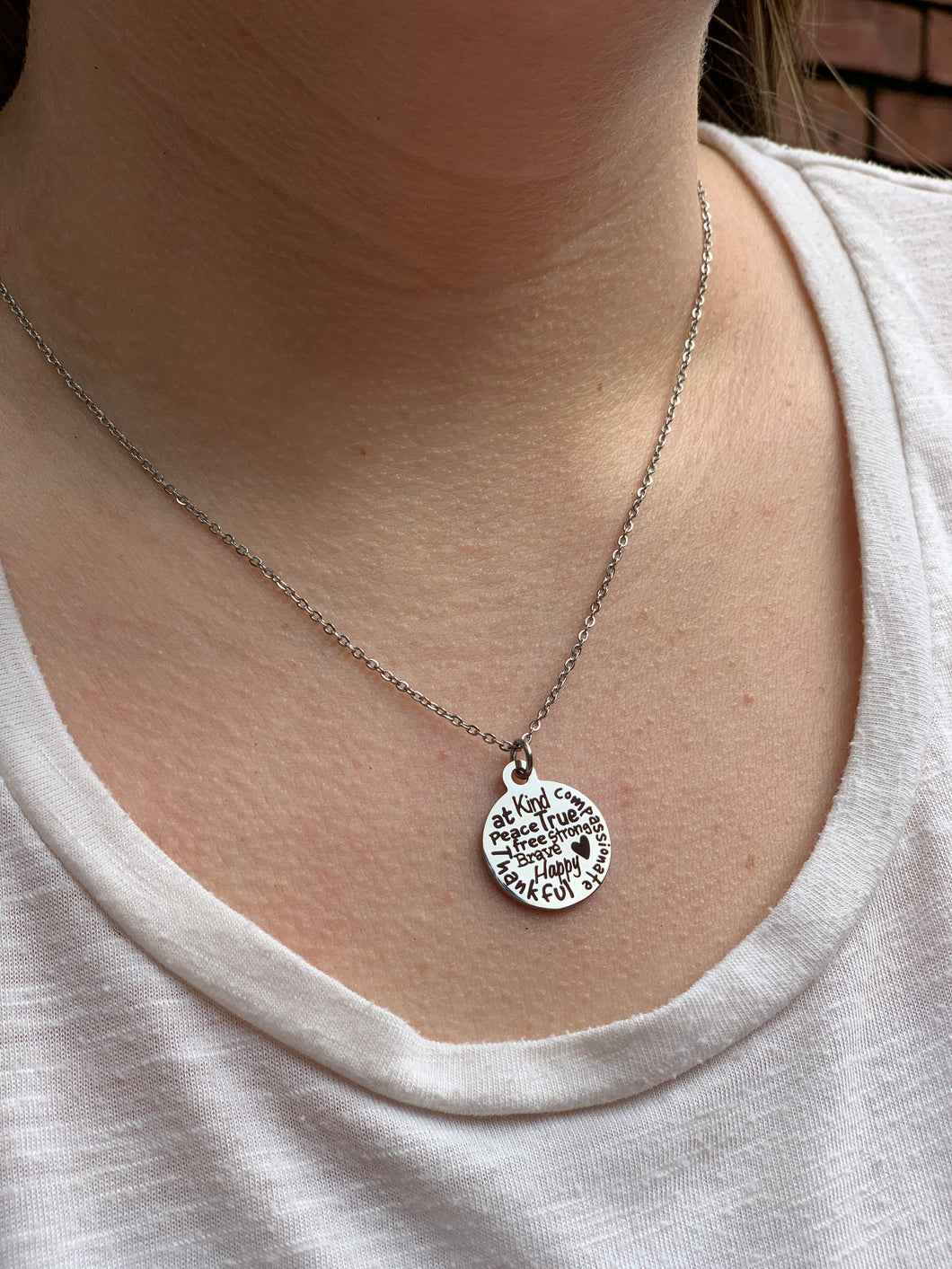 Kindness Charm Necklace