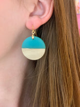 Load image into Gallery viewer, Wood and Acrylic Earring