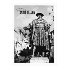 "Laden Sie das Bild in den Galerie-Viewer, Clarissa Schwarz - 3er Postkarten Set ""Saint Gallen"""