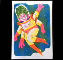 "Laden Sie das Bild in den Galerie-Viewer, Eva Rust - Plakat ""Space Lady"""