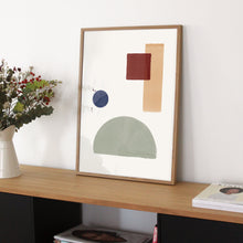 "Laden Sie das Bild in den Galerie-Viewer, Nadine Rasumowsky - Fine Art Print ""Geometric Arrangement 3"""