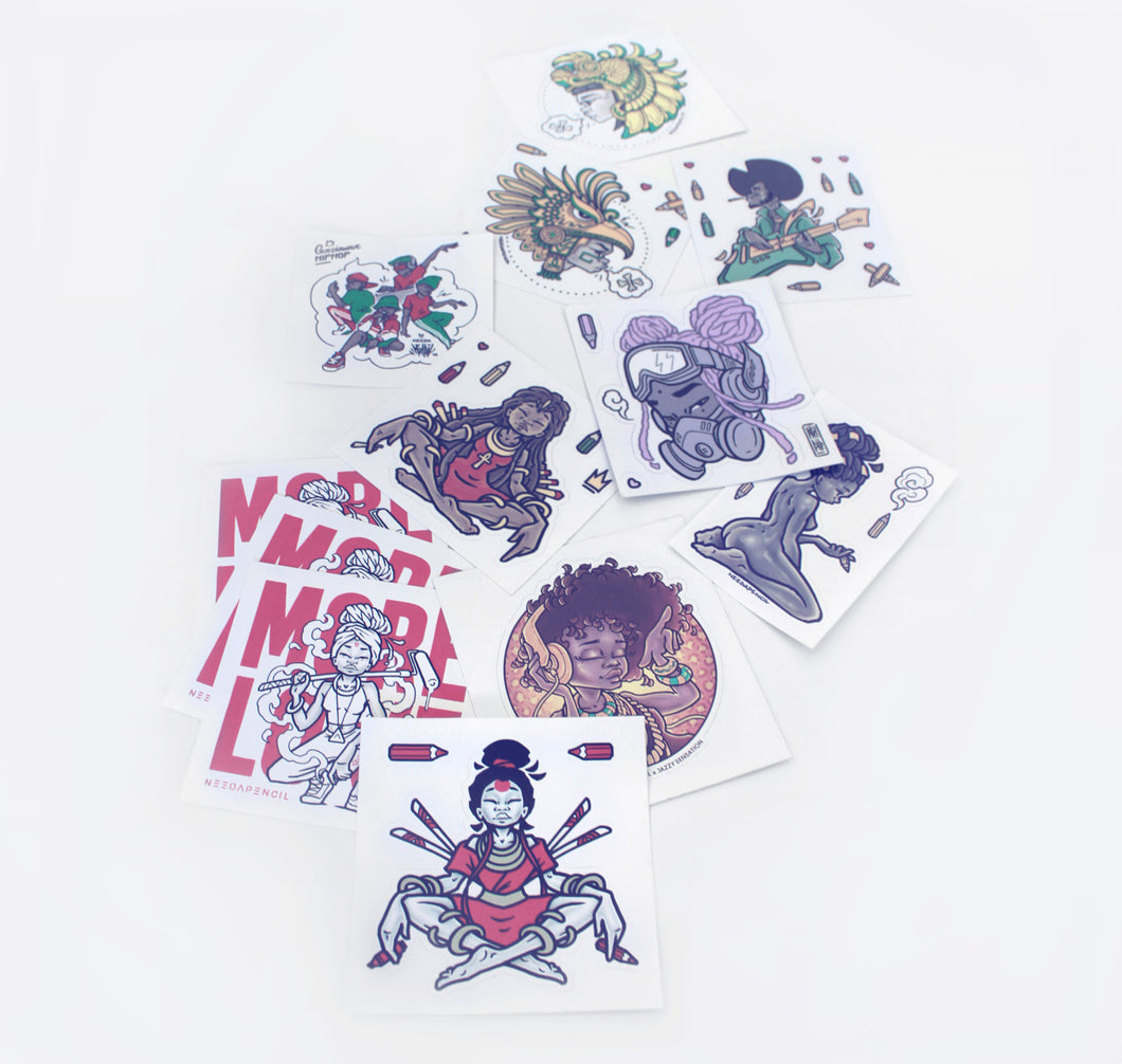 needapencil -  Stickerset