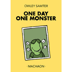 "Olivier Samter - Buch ""One Day One Monster"""