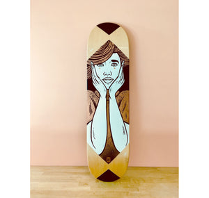 "SAFU ONE - Skatedeck ""HEAR NO EVIL"""