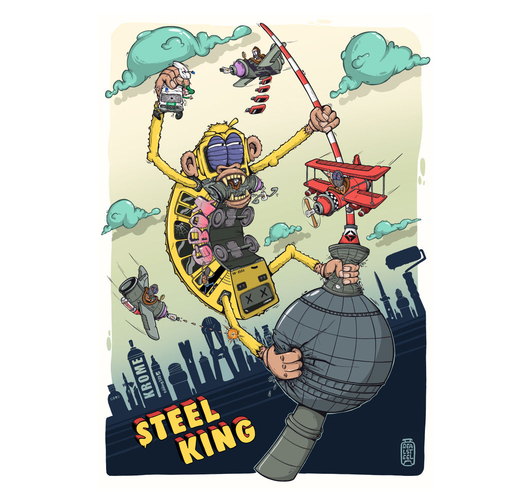 The Real Steel - Plakat