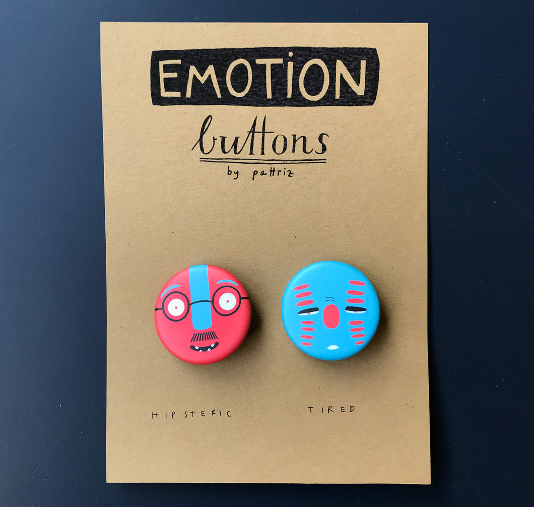 Pattriz - Emotion buttons