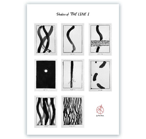 "Elena Könz - Plakat ""Studies of THE LINE I"""