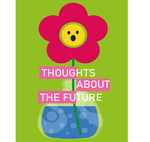 "Silvia Gallart - Plakat ""Thoughts about the future 4"""
