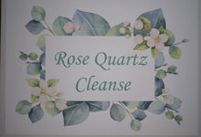 Load image into Gallery viewer, Rose Quartz Cleanse