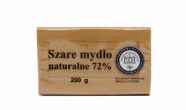 Natural Gray Soap 72% Hypoallergenic 200g - EuroMax Foods The Good Food Store