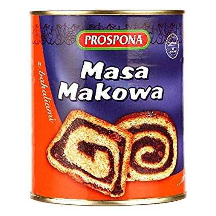 Prospona Poppy Seed Pulp 900g - EuroMax Foods The Good Food Store