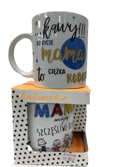 Mother's Day Mug (Mother Hard Work Mug) - EuroMax Foods The Good Food Store
