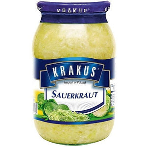 Krakus Sauerkraut - Kapusta Kwaszona 796g - EuroMax Foods The Good Food Store